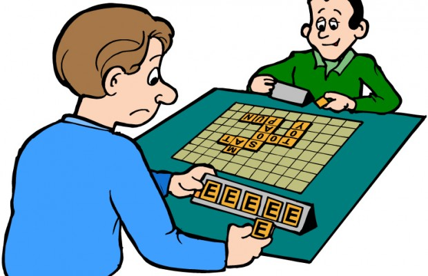 Clip Art Word Games : The new scrabble words you can use  kne
